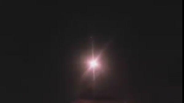 видео отражения ракетных атак Израиля сирийскими системами ПВО