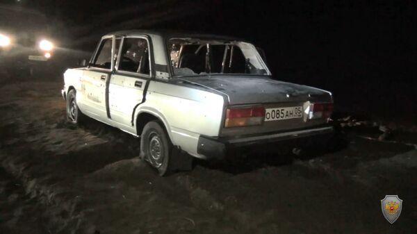На месте боестолкновения в Дагестане. 11 января 2019