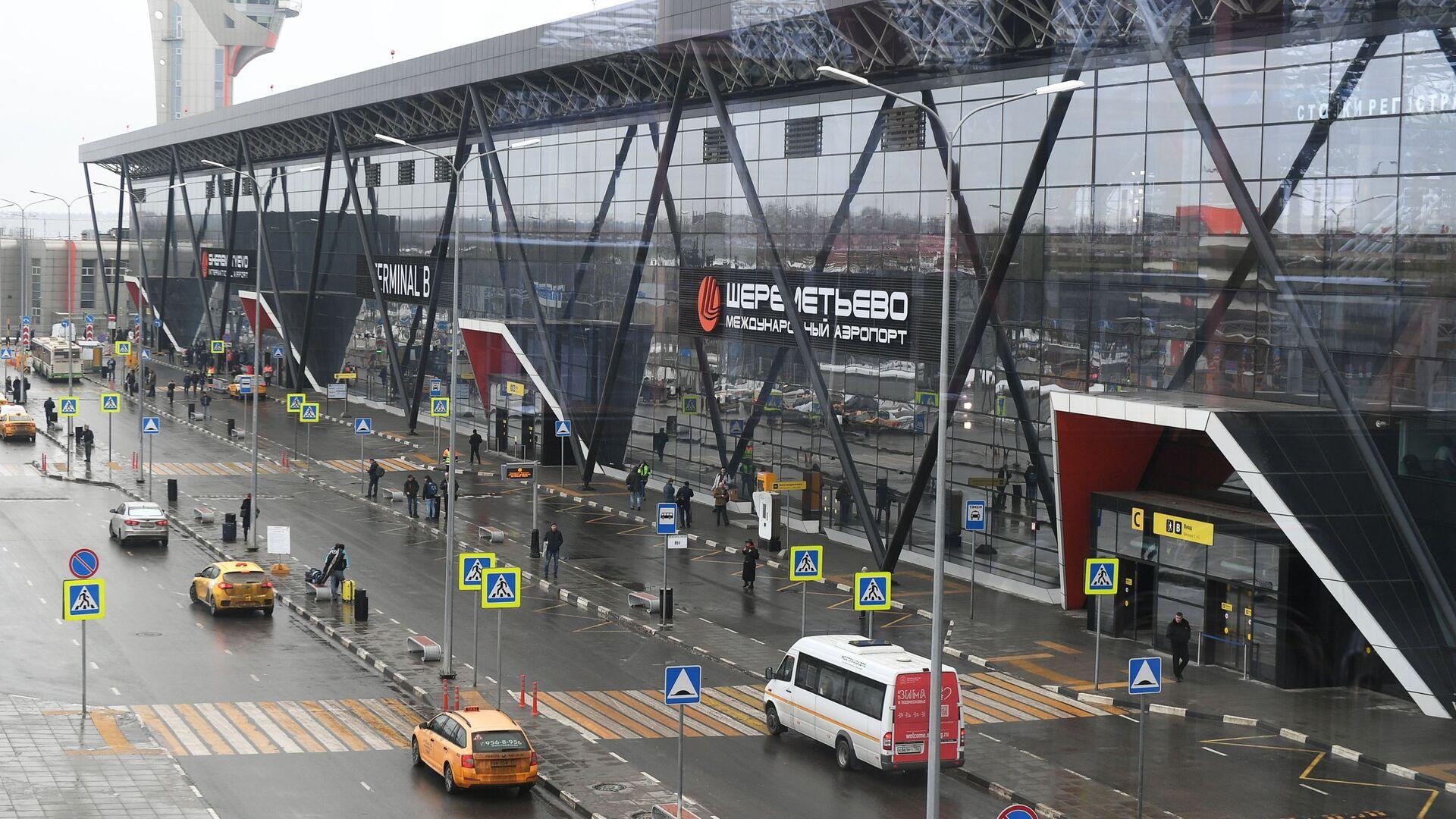 Терминал B международного аэропорта Шереметьево в Москве - РИА Новости, 1920, 21.01.2021