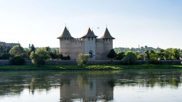 Крепость в городе Сорока, Молдавия