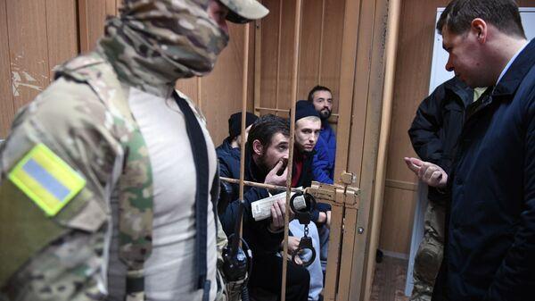 Рассмотрение ходатайства следствия о продлении срока ареста украинским морякам. 15 января 2019