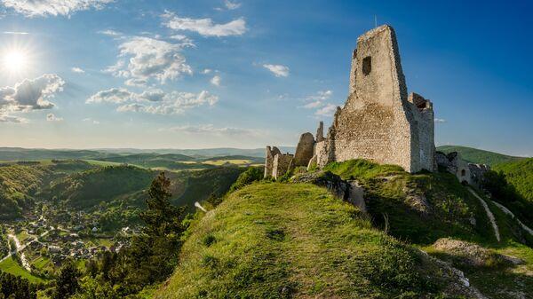 Чахтицкий замок, Словакия