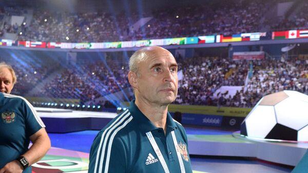Главный тренер женской сборной России по мини-футболу Евгений Кузьмин