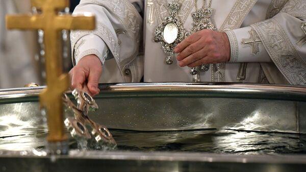 В Красноярске отменили крещенские купания