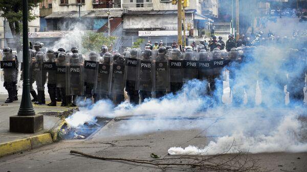 ВВенесуэле арестовали группу военных, попытавшихся устроить мятеж вКаракасе