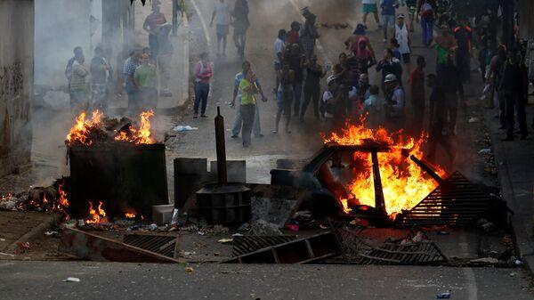 В Венесуэле в ходе протестов задержали около 30 человек