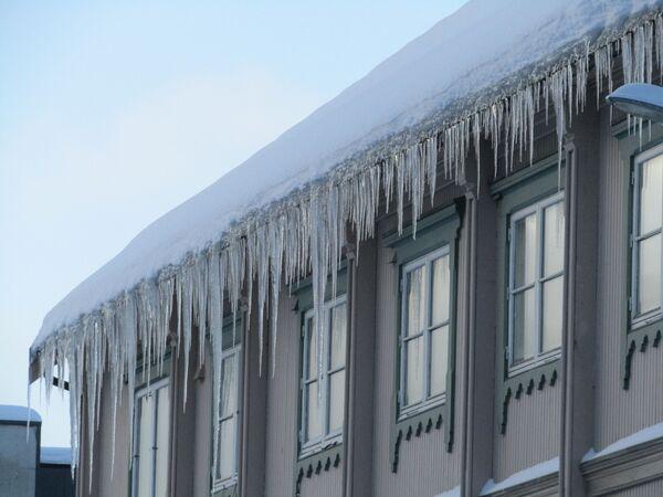 Зима в Норвегии