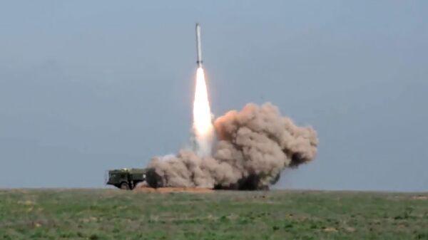 Боевой пуск ракеты