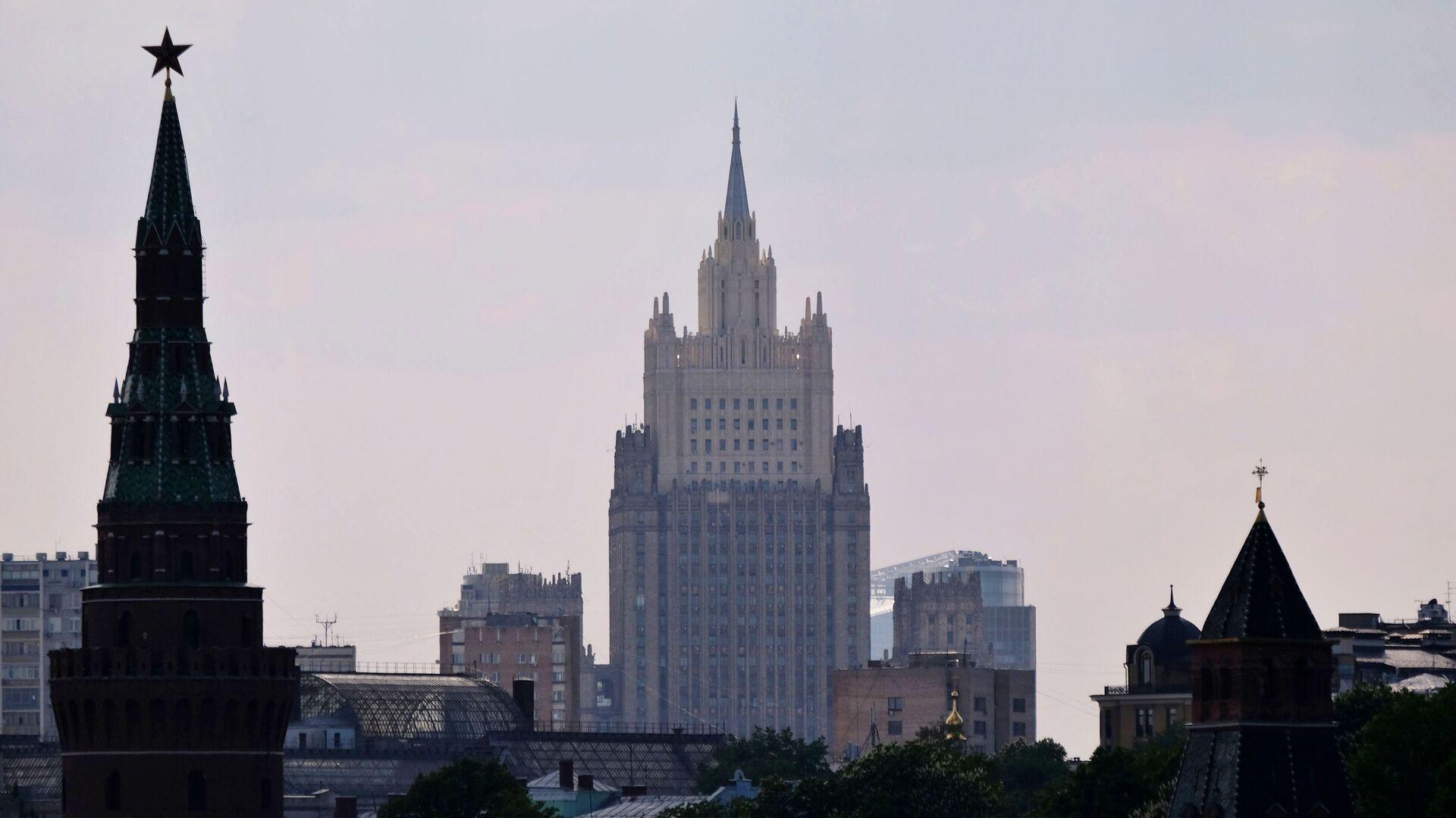 Здание министерства иностранных дел РФ - РИА Новости, 1920, 29.03.2021