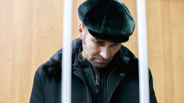 Житель Сургута Павел Шаповалов, обвиняемый в попытке угона воздушного судна Аэрофлота, на заседании Ханты-Мансийского районного суда