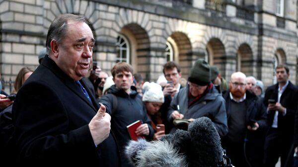 Бывший первый министр Шотландии Алекс Салмонд