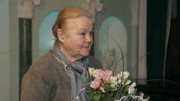 Ведущий лектор-музыковед Московской филармонии Светлана Виноградова
