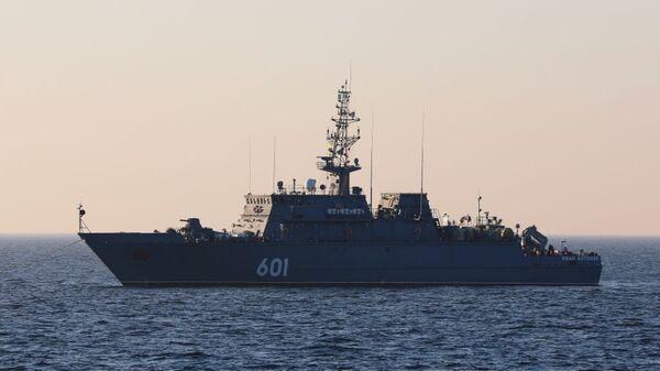 Новейший корабль противоминной обороны Иван Антонов