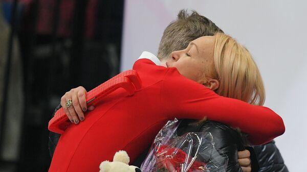 Александр Самарин и тренер Светлана Соколовская