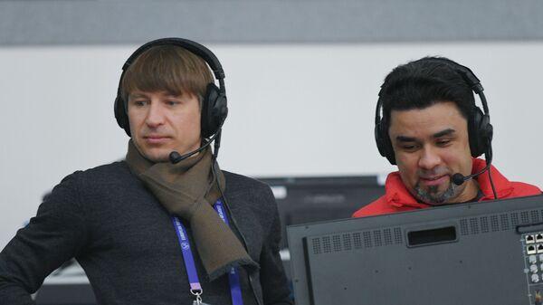Алексей Ягудин (слева)