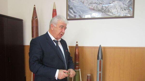 Начальник Северо-Кавказской военизированной службы по активному воздействию на метеорологические и другие геофизические процессы Росгидромета Хизир Чочаев