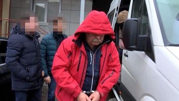 Первый заместитель генерального директора компании Газпром газраспределение Ставрополь Николай Романов перед началом допроса в главном следственном управлении СК РФ