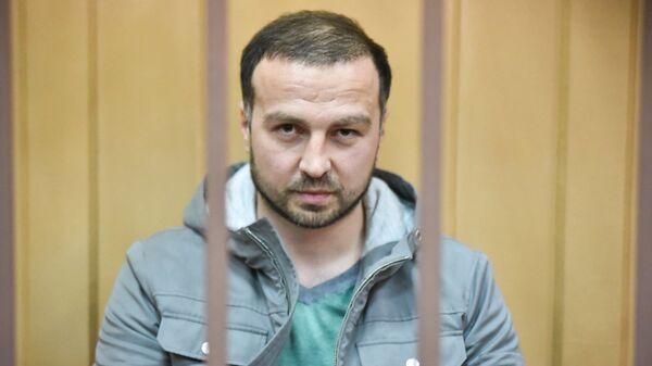 Алан Кятов в Басманном районном суде Москвы. 1 февраля 2019