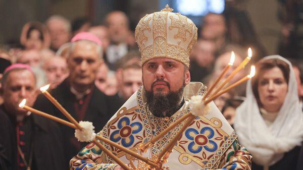 Глава новой церкви Украины Епифаний