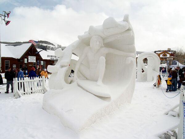 Чемпионат снежных скульптур в Брекенридже
