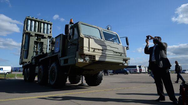 Зенитный ракетный комплекс Витязь