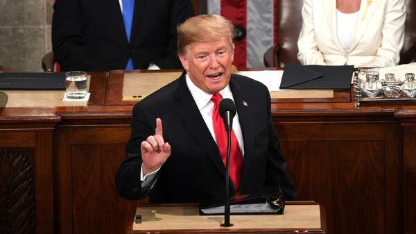 Послание 45-го президента США Дональда Трампа конгрессу. 5 февраля 2019