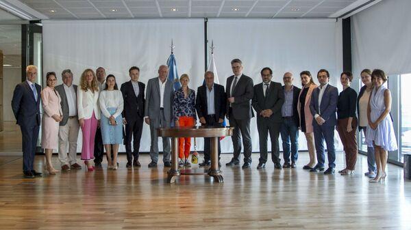 Информационное агентство и радио Sputnik и Федеральная система средств массовой информации и общественного контента  Аргентины подписали меморандум о сотрудничестве