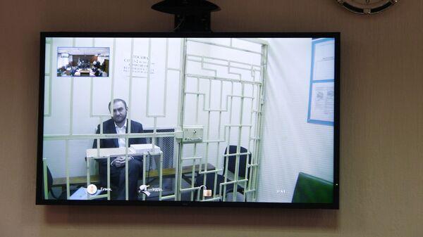 Онлайн-трансляция в Московском городском суде, где идет заседание по рассмотрению жалобы на арест сенатор Рауфа Арашукова