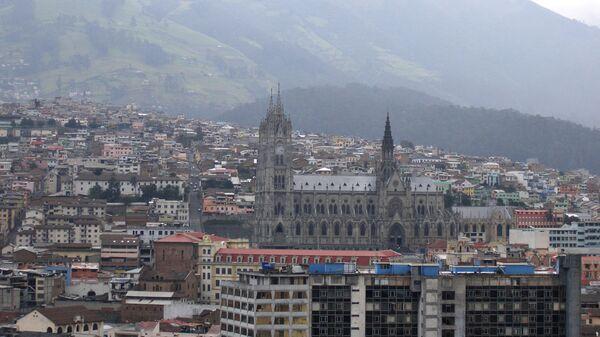 Столица Эквадора Кито. Архив