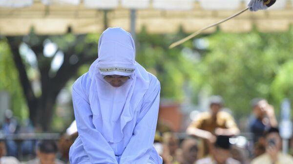 21-летняя мусульманка подвергается наказанию по закону шариата