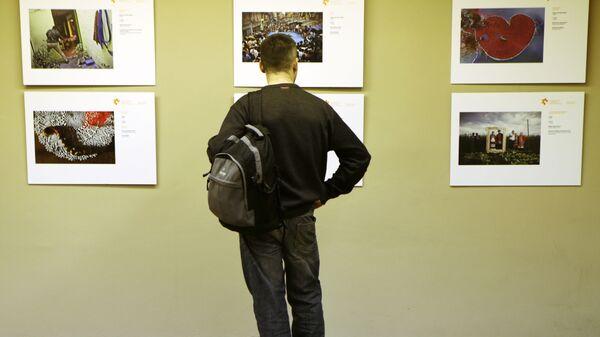 Открытие выставки победителей конкурса им. Андрея Стенина в Тель-Авиве