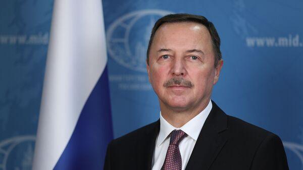Посол России в Дамаске Александр Ефимов