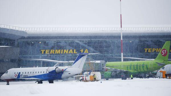 Самолеты в международном аэропорту Казани