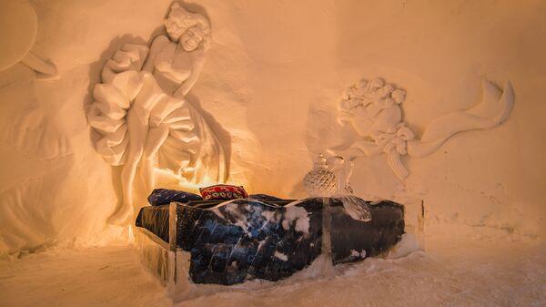 Снежный отель в Киркенесе, Норвегия