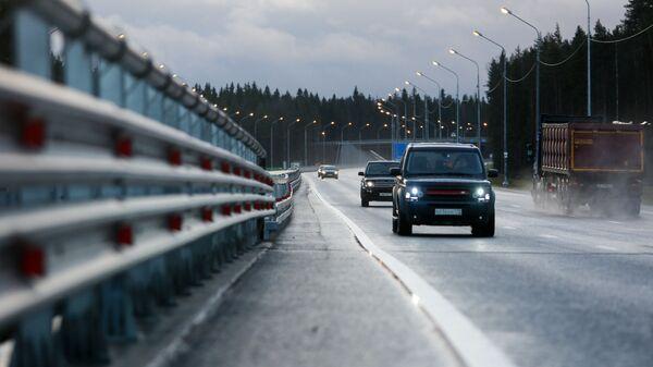 Автомобили на федеральной автомобильной дороге