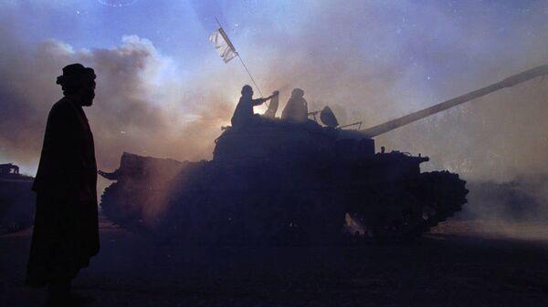 Талибы входят в Кабул. 1996 год