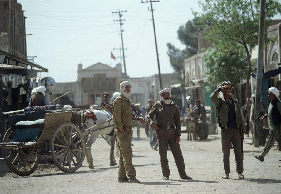 Район города Герата, контролируемый оппозицией. Республика Афганистан. 1988 год