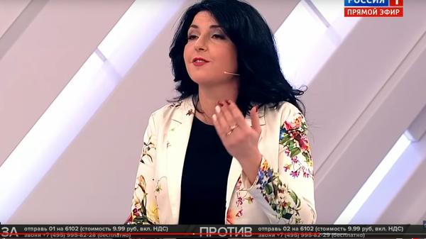 Украинскую журналистку выгнали из студии России 1