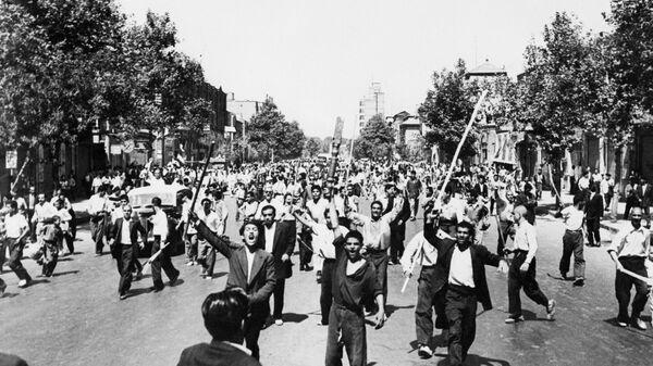 Беспорядки во время государственного переворота в Иране в августе 1953