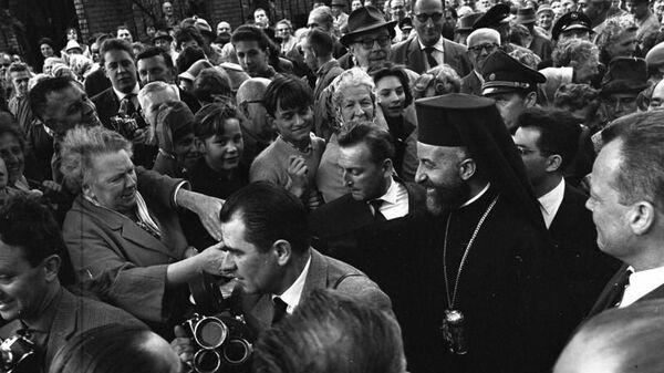 Предстоятель автокефальной Кипрской православной церкви архиепископ Макарий III