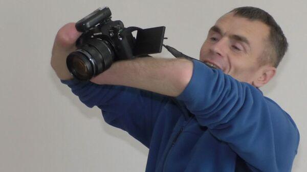 Человек из Кемерово: фотограф бесплатно учит больных детей