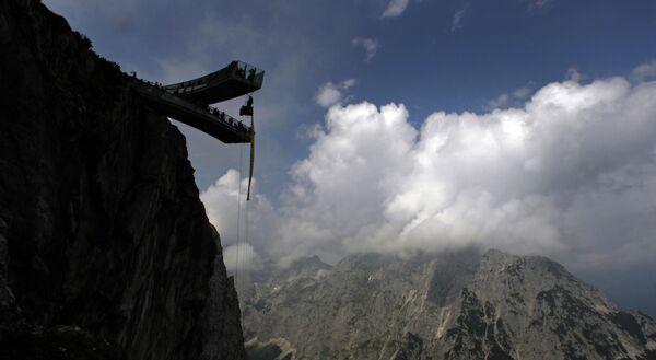 Смотровая площадка AlpspiX в баварских Альпах