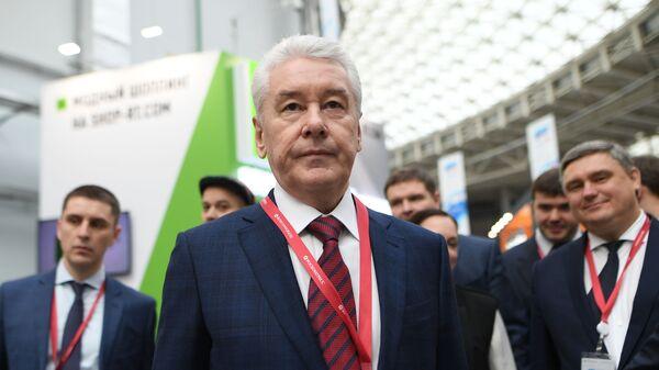 Мэр Москвы Сергей Собянин на Российском инвестиционном форуме в Сочи