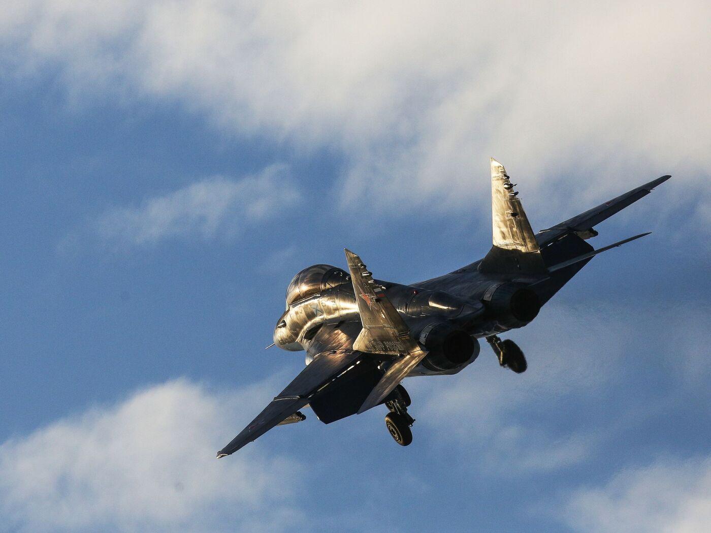 Обои МиГ-29М, ВВС Польши, многофункциональный истребитель. Авиация foto 19