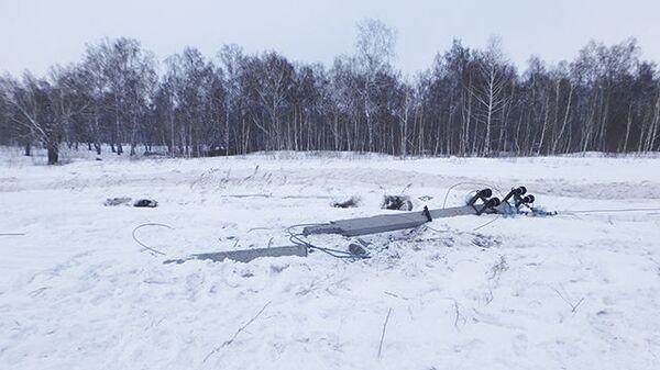 В Юргинском районе Кемеровской области водитель спецтехники Министерства обороны сбил опору ЛЭП