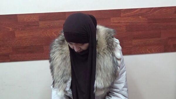 Жительница Астраханской области, подозреваемая как один из организаторов законспирированной ячейки террористической организации Исламское государство* и задержанная сотрудниками ФСБ РФ совместно с СК РФ