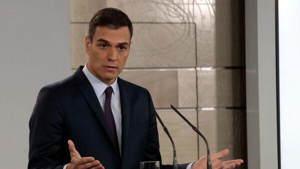 и. о. премьер-министр Испании Педро Санчес
