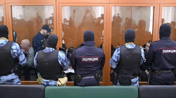Участники преступной организации, созданной и возглавляемой уроженцем Грузии Асланом Гагиевым, в Московском окружном военном суде