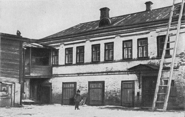 Дом в Нижнем Новгороде, где прошло детство Я. М. Свердлова