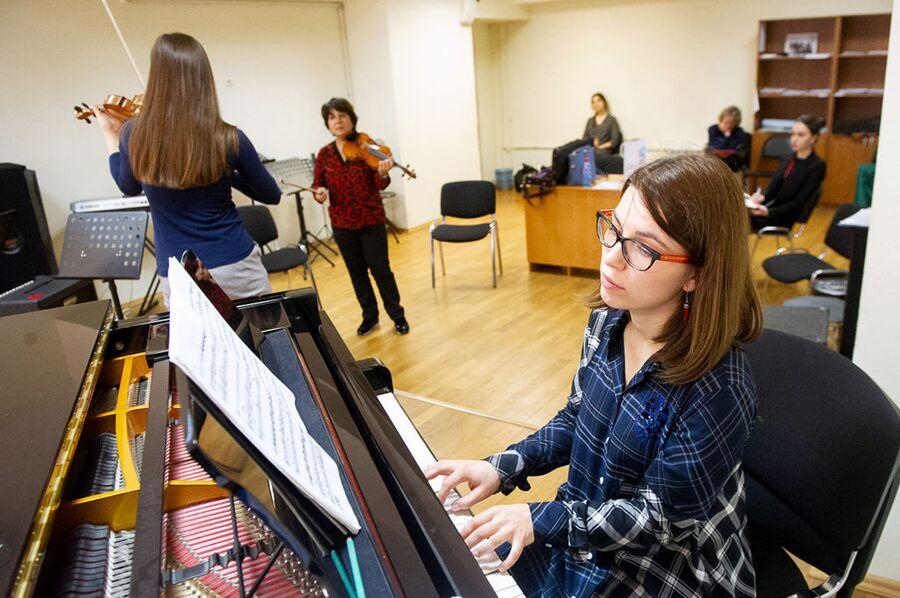 Занятия в Международной музыкальной академии Юрия Башмета в Сочи